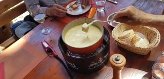 Miaaaam, la bonne fondue!
