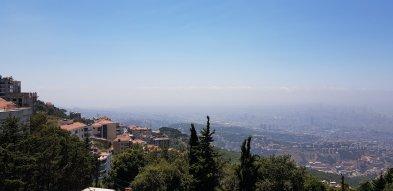 Vue depuis Beit Mery