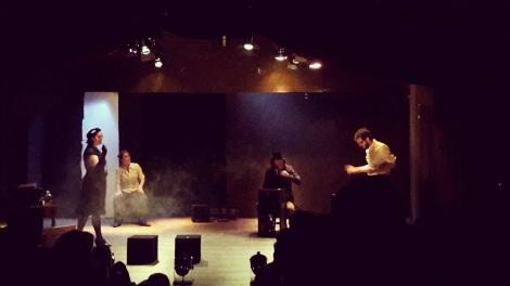 Le spectacle SAGA, de la compagnie George Poutre, au TMR de Montreux
