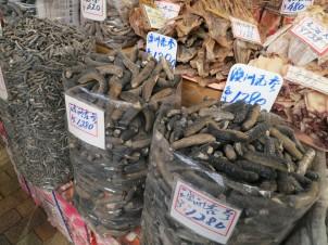 Les concombres de mer séchés qu'on peut acheter à Hong Kong... ça ne vend pas toujours du rêve visuellement. Photo@Oleg - Flickr