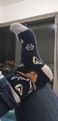 Il est l'heure de ressortir les chaussettes de Noël!